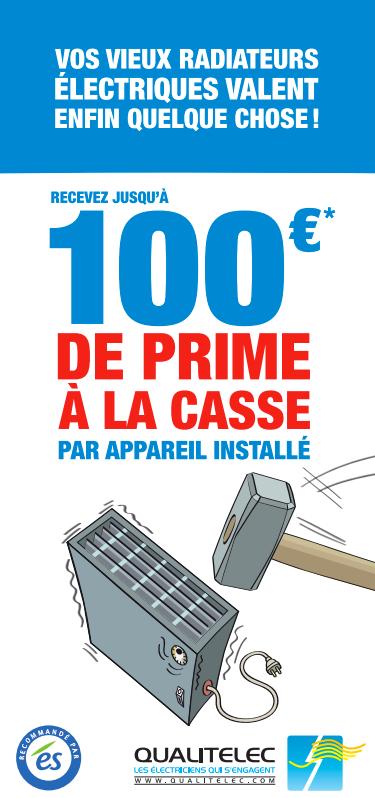 prime à la casse: jusqu'à 100€ par radiateur remplacé